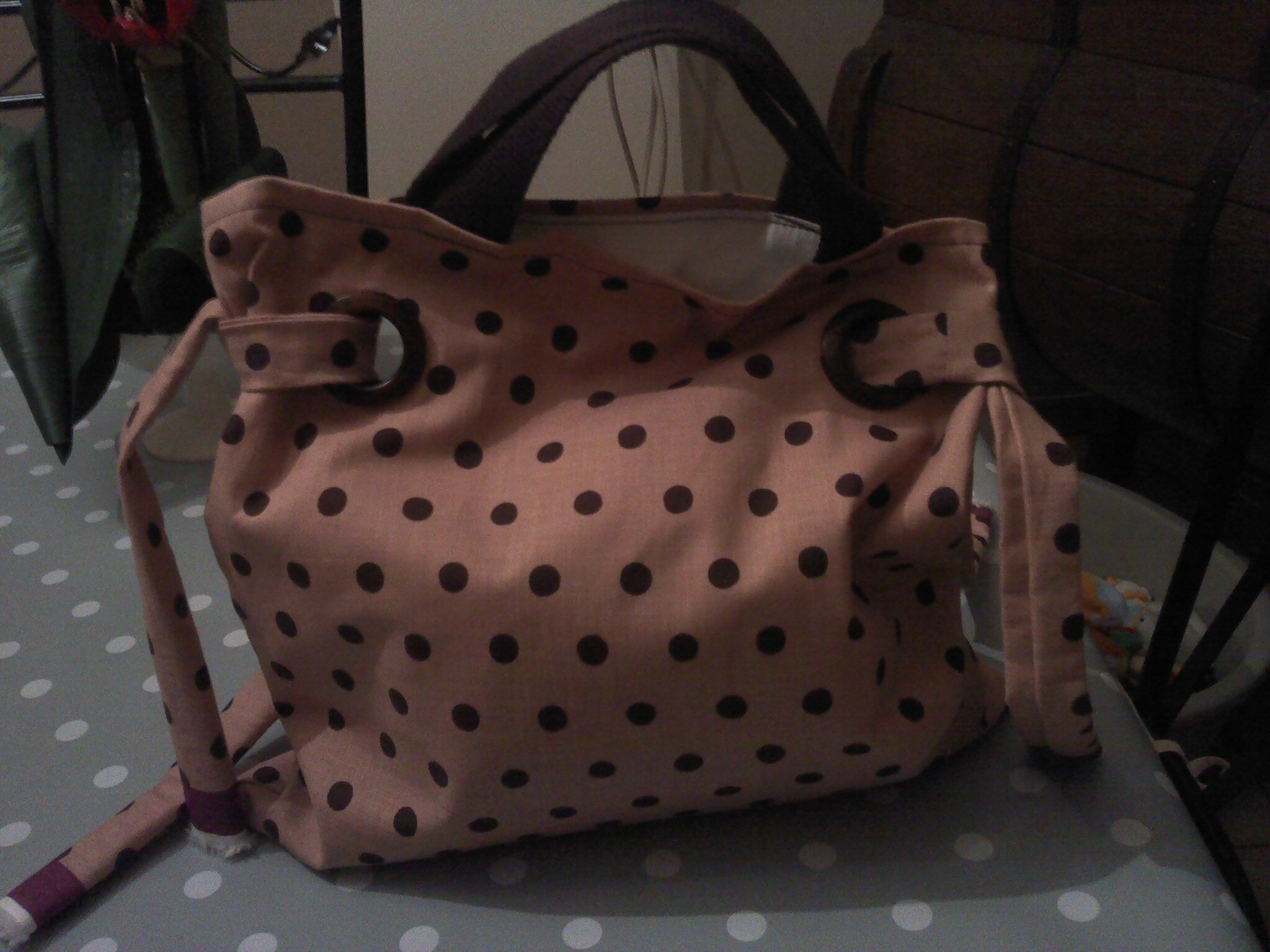 Photo sac en toile