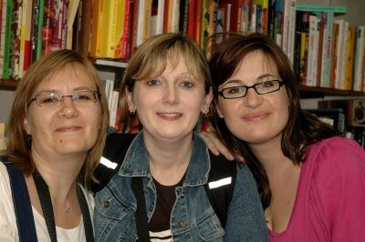 Nathalie, Lucyna et moi