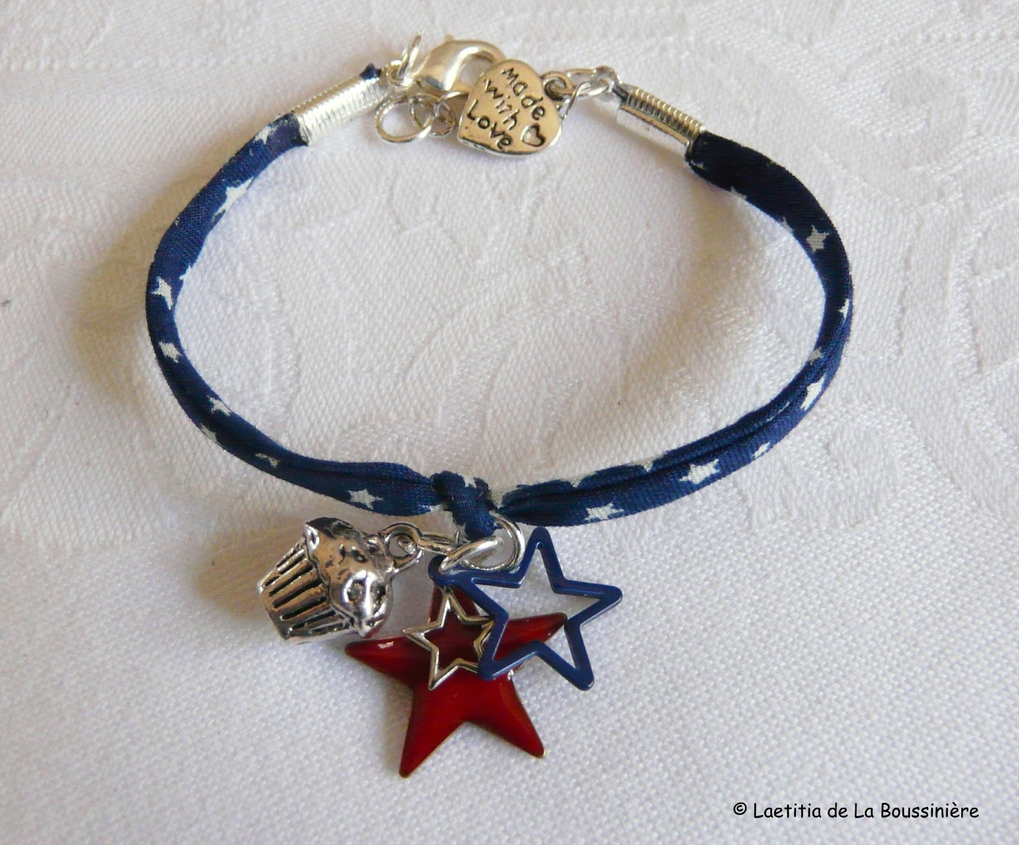 Bracelet US - 17 € (simple tour) ou 20 € double tour