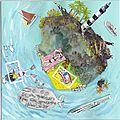 Art postal #la mer
