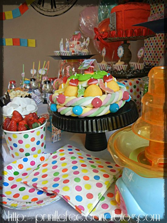candyland sweet table 1
