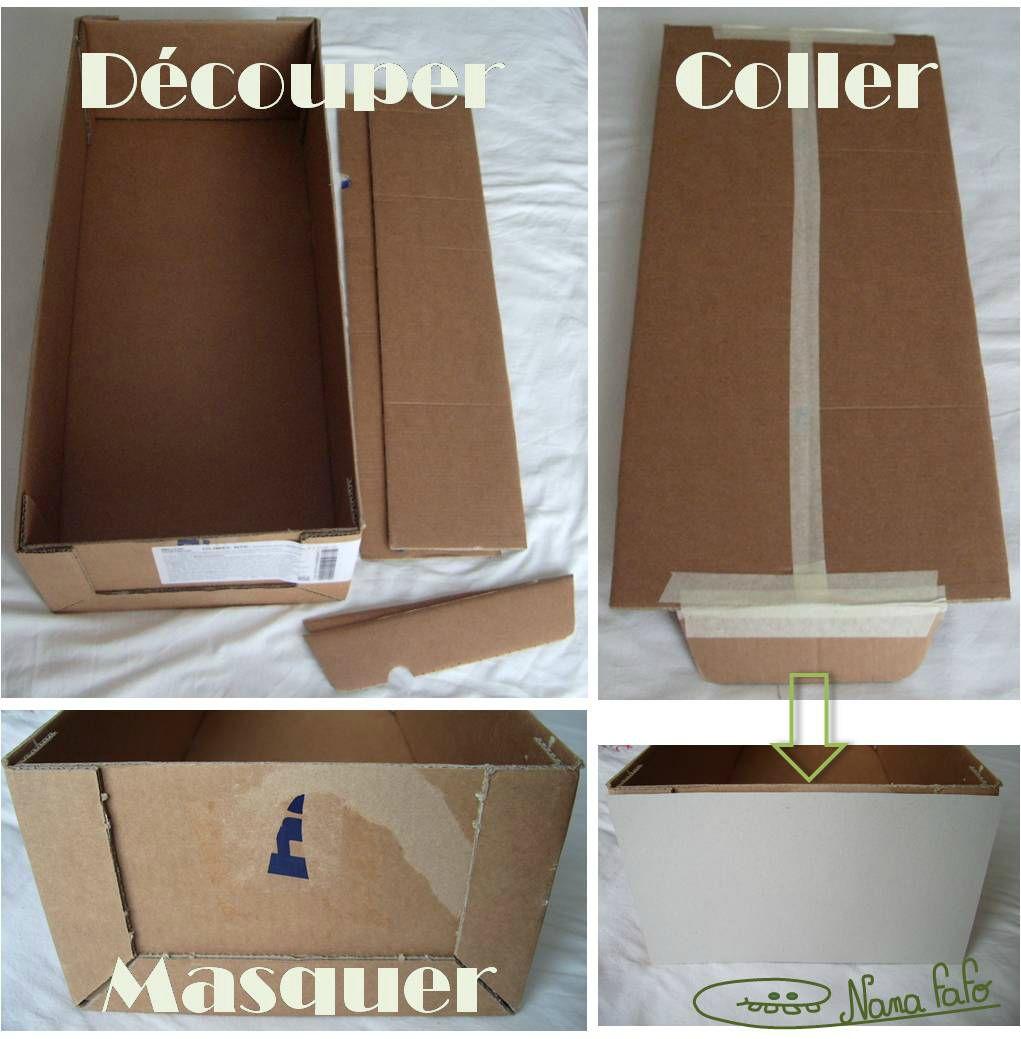 des cartons pour ranger ma laine fa on recyclage nana fafo crochet et petites histoires. Black Bedroom Furniture Sets. Home Design Ideas