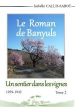 projet 1 couverture - Le Roman de Banyuls - Un sentier - 24 JUILLET
