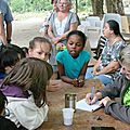 Les enfants fêtent le 14 juillet avec les amis du salet