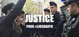 Justice pour Shaoyo Liu.
