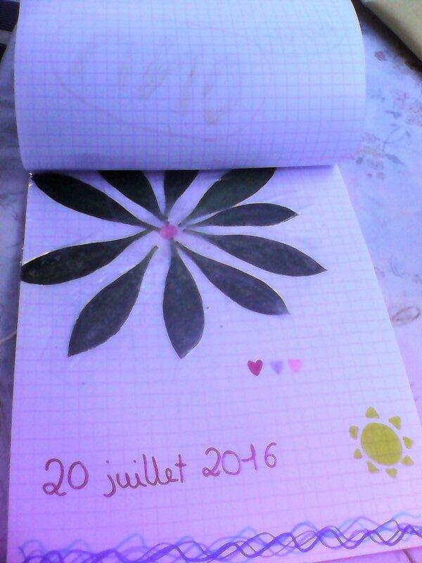 20 juillet composition florale Nell