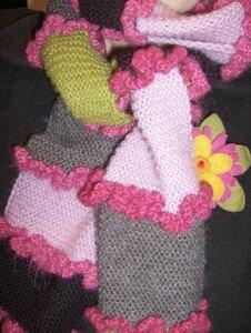 mon écharpe préférée, modèle latifa sur knitty