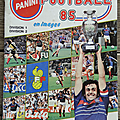 Album ... football panini 1985