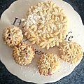 Petites tartelettes sablées étoilées