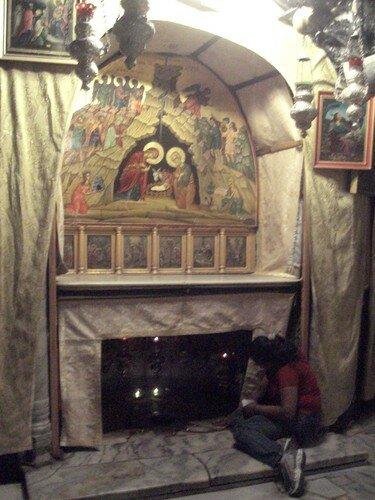 Eglise de la Nativite, lieu ou Jesus serait ne