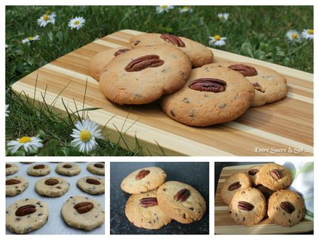 cookies pécan