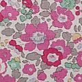 betsy rose vif, coloris japonais