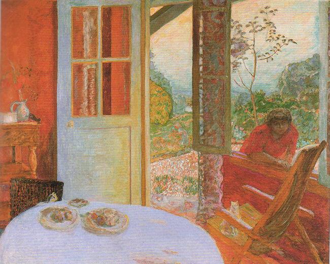 1913 - Salle à manger à la campagne