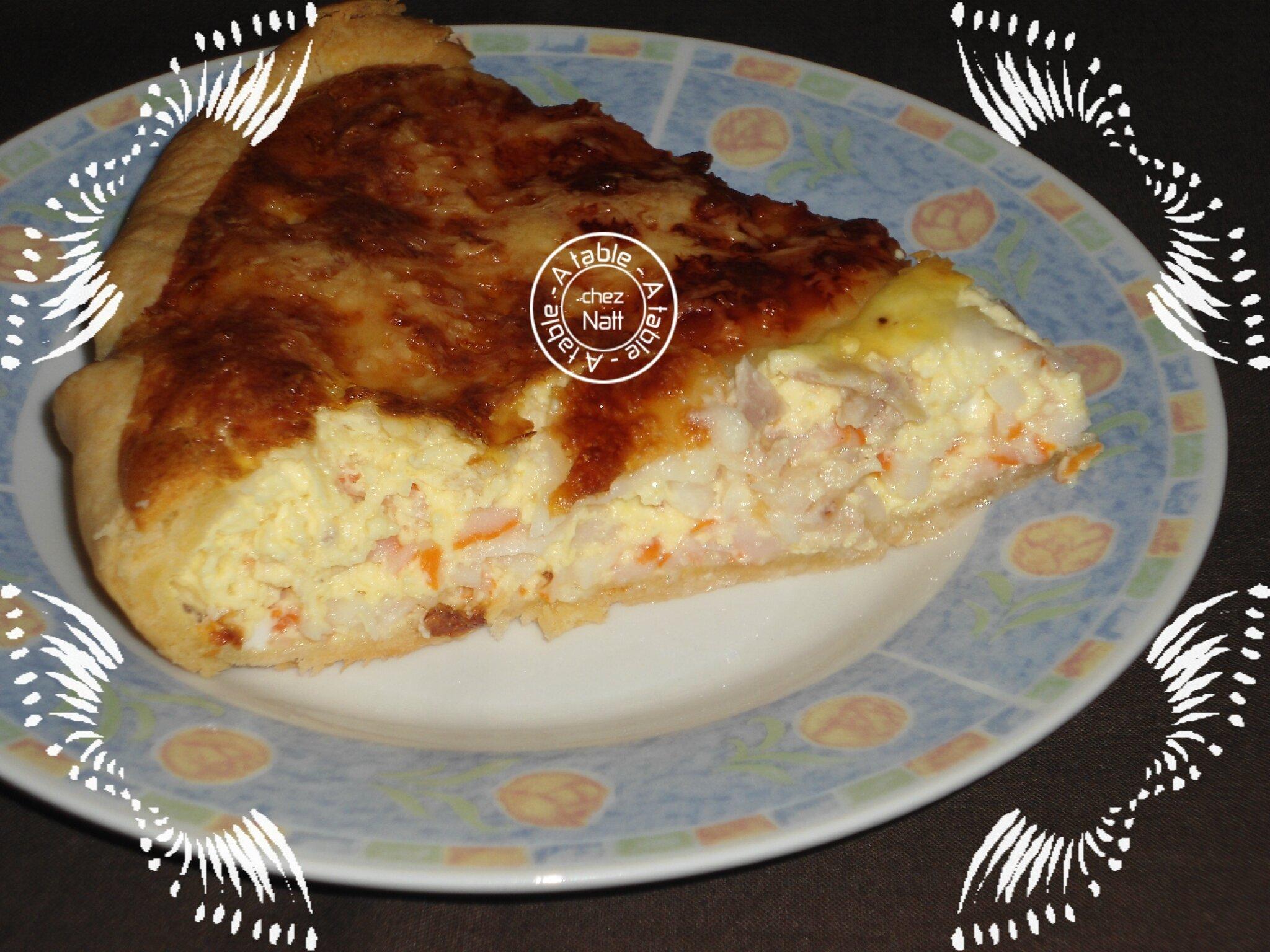 Célèbre Quiche surimi et thon - A table chez Natt UG16