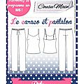 Made in me couture - caraco & pantalon cousu main