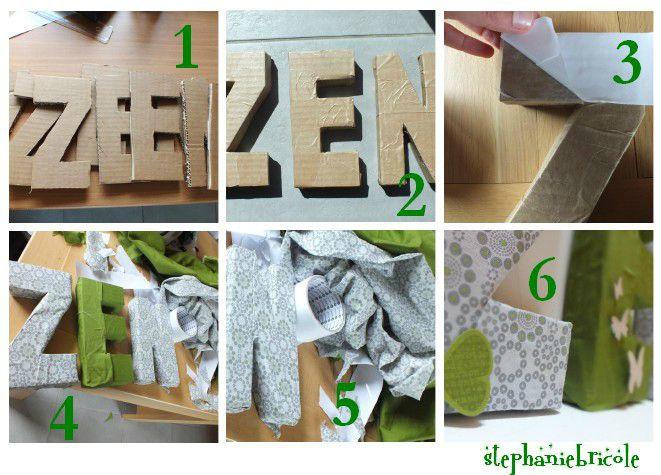 Diy id e de d co zen faire soi m me cartons galets - Idee cadre photo a faire soi meme ...