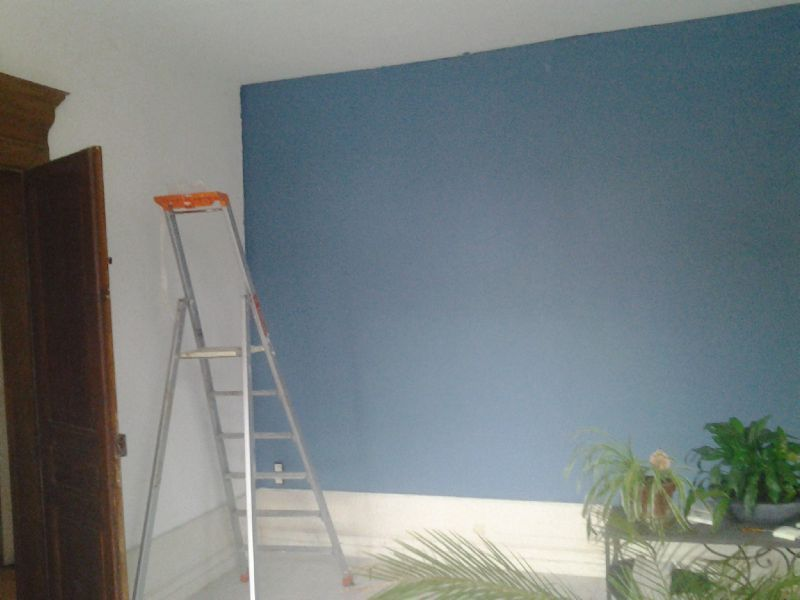 Du changement depuis cet hiver le d but de l 39 aventure for Peinture couleur zinc