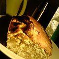A delicious cake aux pommes