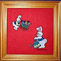 Broderie - Tableaux enfants