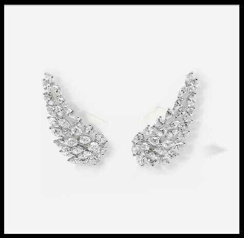 messika angel boucles oreilles