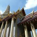 Temple du bouddha d'emeraude, Bangkok