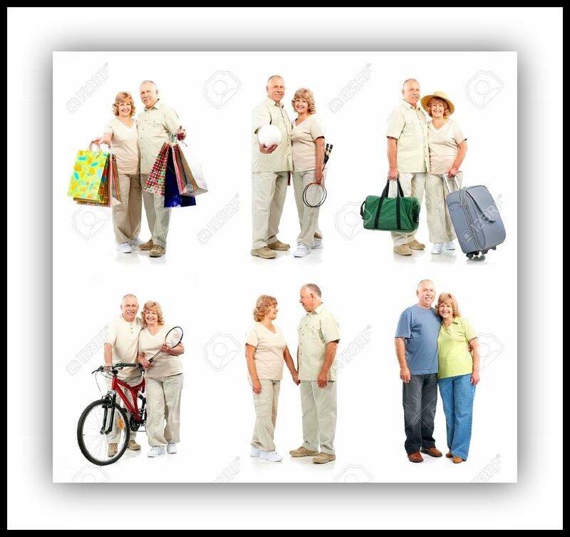 8 5770961-Happy-couple-de-personnes-g-es-dans-l-amour-Isol-sur-fond-blanc-Banque-d'images