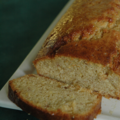 Le goter du samedi (3) : cake glac au citron et gingembre confit, sans bl, sans lait