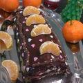 Bûche clémentines/ chocolat