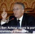Yadh ben achour accepte les islamistes dans sa commission de réformes politiques