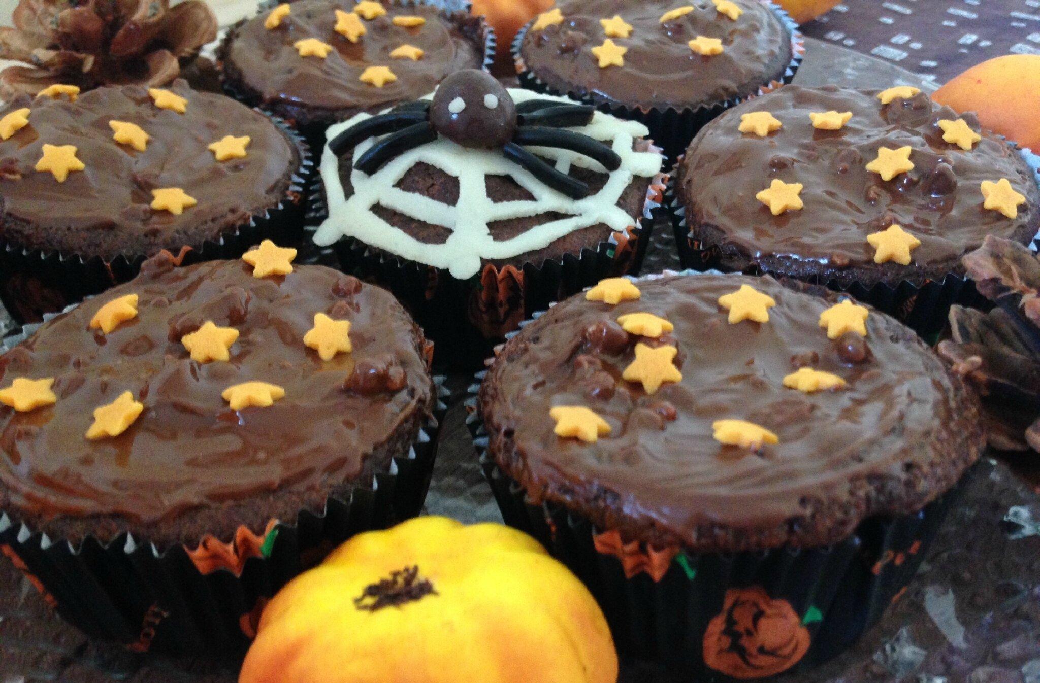 Petits gâteaux courgette-chocolat