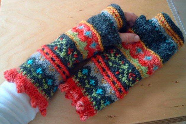 Composed mitts, IK automne07 / janvier-février 08