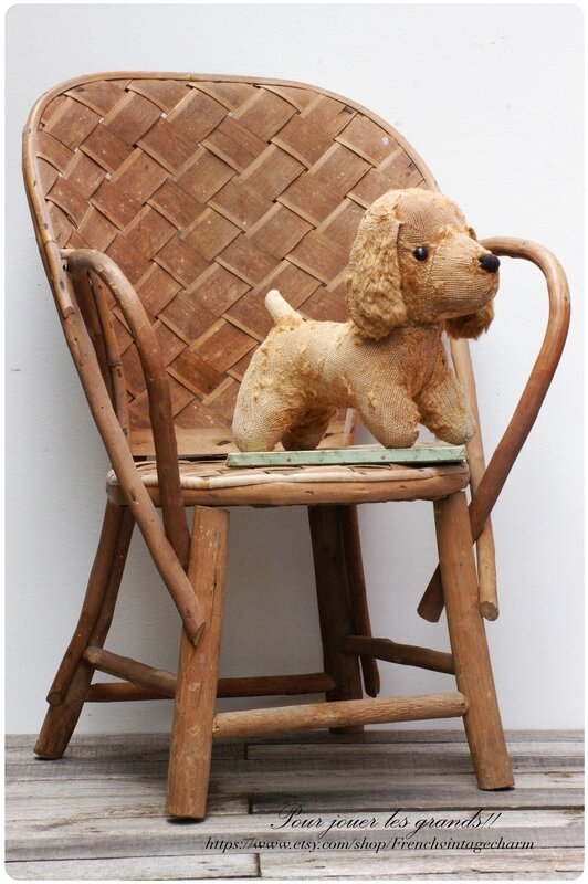 Fauteuil chataignier