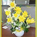 Art floral Pâques 2015 Loudéac Accueil Yvonne