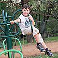Nathanaël acrobate
