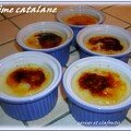 CREME CATALANE ( recette du chef Alberto HERRAIZ )