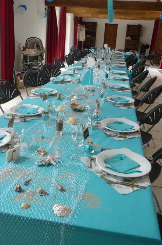 Id e d coration de table anniversaire - Idee de decoration de table ...