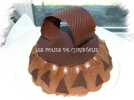 Bavarois au chocolat 10