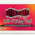 les dylusions ink spray pad
