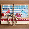 Un mini avec la box créative de mars…