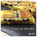Far breton au chocolat
