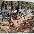 Ile d'Oléron - camping Signol datée 1972