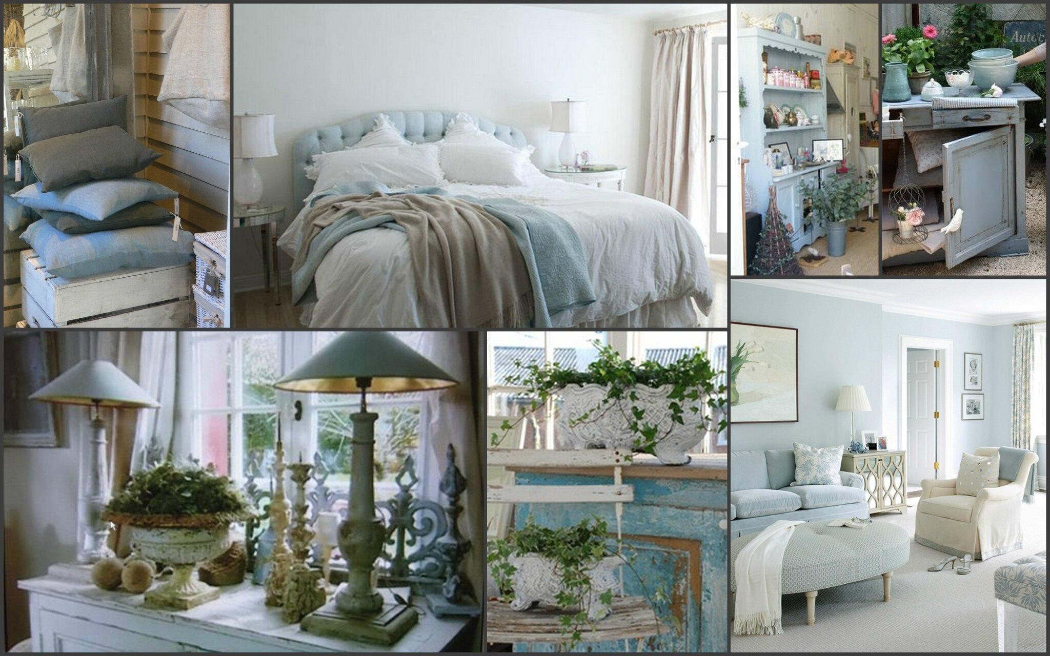 Le bleu dans la d coration une fee d 39 hiver for Deco appartement hiver
