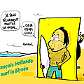 François hollande, la vague