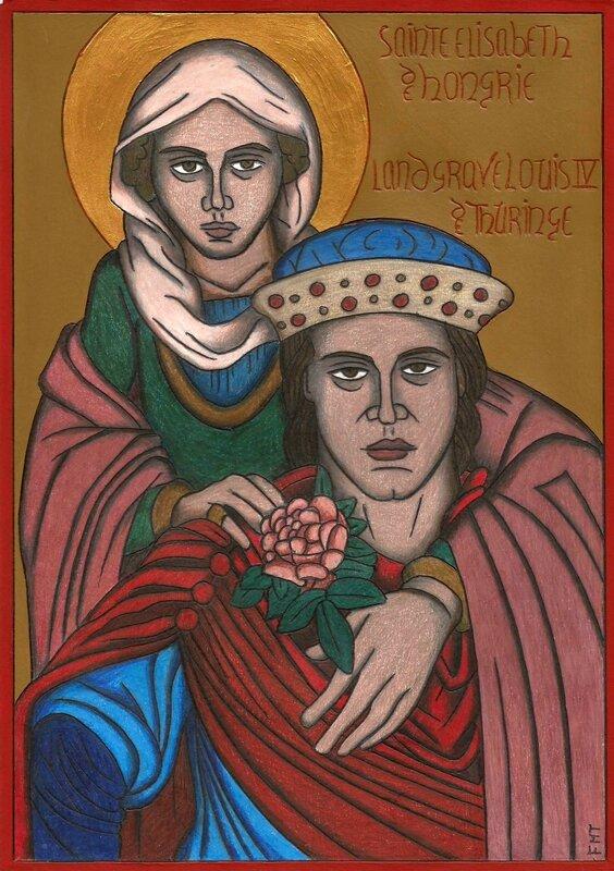 Ste Elisabeth de Hongrie 1