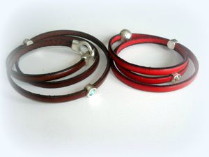 bracelets cuir+sacs 003