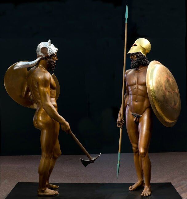 Exhibition presents ancient sculpture to audiences as never before: In vibrant color