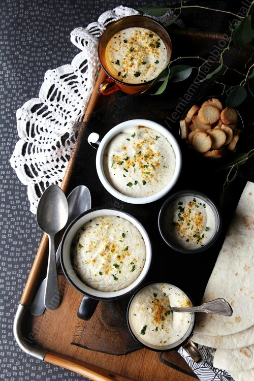 Crème de panais au curry