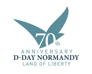logo 70e anniversary landing liberation battle D-Day Normandy 1944 2014