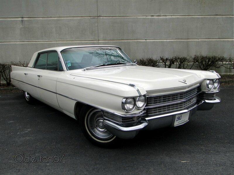 cadillac deville 4window hardtop sedan 1963 a