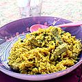 Curry pour petits & grands {recette rapide}